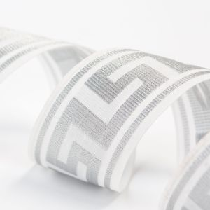 The Wired Great Wall Pattern Polyseter Ribbon for Garments pictures & photos