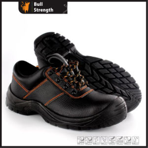Industrial Leather Safety Shoes with PU Sole (SN5451) pictures & photos
