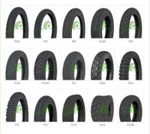 Motorcycle Tire and Tube with Different Size pictures & photos