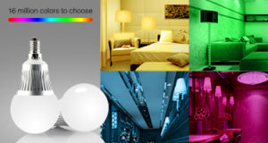 5W E14 RGBW LED Light bulb pictures & photos
