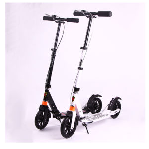 Height Adjustable Mini Adults Foldable Stunt Kick Scooter (SZKS007) pictures & photos