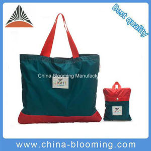 Lightweight Reusable Foldable Tote Bag Travel Shoulder Shopping Bag pictures & photos