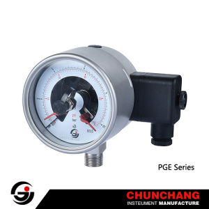 Stainless Steel Electric Contact Pressure Gauge pictures & photos