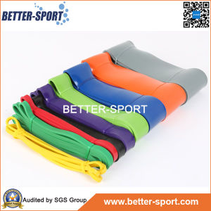 100% Pure Latex Material Flat Resistance Bands pictures & photos