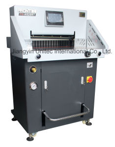 Simple Innovative Products Program Control Paper Guillotine Cutting Machine H520rt pictures & photos