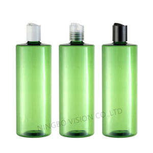 500ml Pet Clear Plastic Dispenser Pump Bottle with Body Lotion for Cosmetic Packing pictures & photos