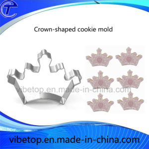 Newest Style Kitchen Tool Crown-Shaped Cookie Mold/Cake Mold pictures & photos