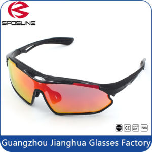 New Style Tr90 Frame Custom Logo Bicycle Riding Cycling Sunglasses pictures & photos