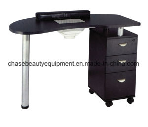 Top Quality Wholesale Manicure Nail Table with Exhaust Fan pictures & photos