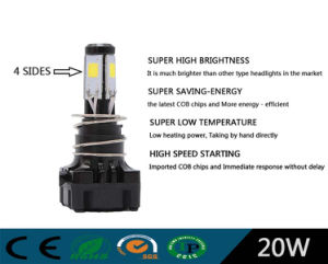 High Performance M4s 20W Motorcycle LED Headlight /H4 pictures & photos