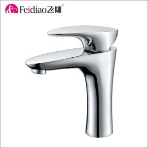 Modern Design Popular Good Quality Single Handle Rain Shower Faucet (with spout) pictures & photos