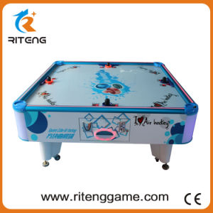 Coin-Operated White Classic Square Cube 4 Player Kiddy Air Hockey Table pictures & photos