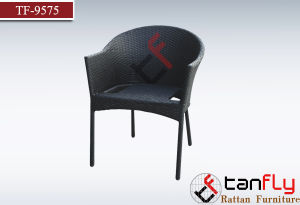 Outdoor Garden Chair with PE Rattan