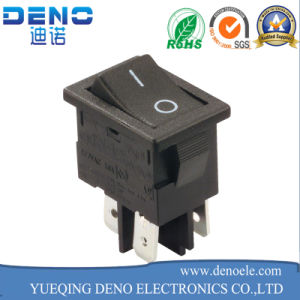 3 Pin Lighted Waterproof Kcd01 Kcd1 Rocker Switch pictures & photos