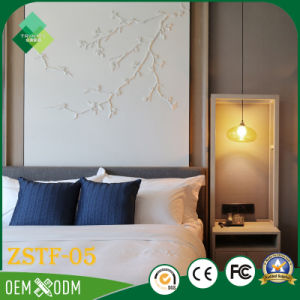 Elegant Chinese Style of Wood Hotel Bedroom Furniture Set (ZSTF-05) pictures & photos