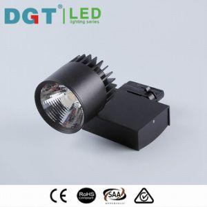 30W White/Black CRI90 COB LED Track Rail Light pictures & photos
