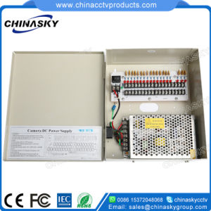 12VDC 5AMP 9channel CCTV Power Supply Box (12VDC5A9P) pictures & photos