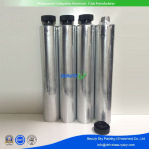 White Aluminum Collapsible Tube for Cosmetics Packaging with Octagon Screw Cap, for Hand Cream pictures & photos