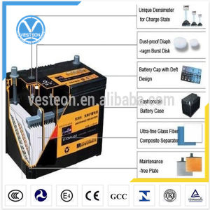 12V Lead-Acid JIS Heavy Duty Truck Sealed Maintenance Free Battery pictures & photos
