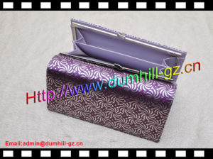 Hot Selling Elegant Zipper Long Size Lady Purse pictures & photos