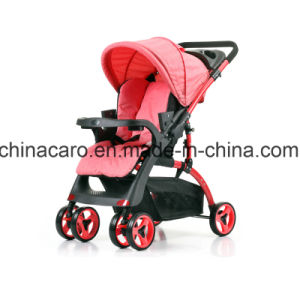 European Standard Luxury Fold Baby Stroller with Car Seat pictures & photos