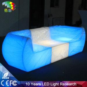 Hotel Furniture LED Light Sofa