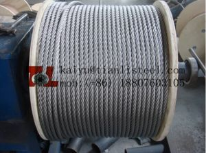 Ss 316 7*7 Stainless Steel Rope pictures & photos