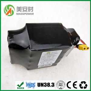 High Quality 18650 Rechargeable 36V 4.4ah 10s2p Lithium Battery Pack for Scooter pictures & photos