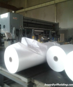 Pearlised BOPP Film for Printing 22mic 25mic 30mic for Ice Cream, Wet Tissue pictures & photos