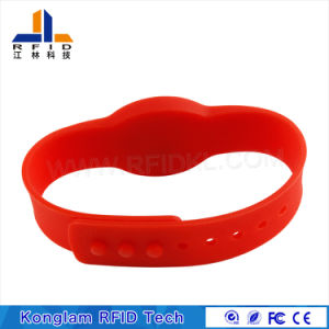 Flexible RFID Silicone Bracelet for Custody Management pictures & photos