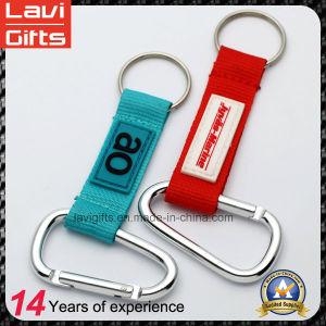 Factory Price Strap Lanyard Keychain with Carabiner/Keyring pictures & photos