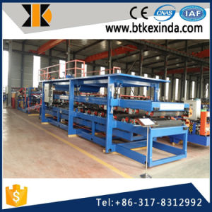 Kxd Steel Rock Wool and EPS Cement Sandwich Panel Foam Making Machine pictures & photos