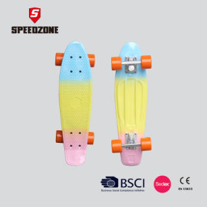 Rainbow Color 22 Inch Top Penny Board pictures & photos