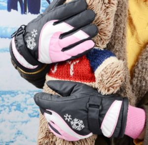 Kids Ski Glove/Kids′ Five Finger Glove/ Children Ski Glove/Children Winter Glove/Detox Glove/Oekotex Glove/Mitten Ski Glove/ Winter Glove pictures & photos