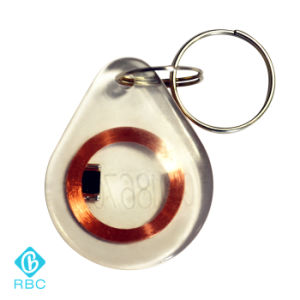 Custom PVC/Epoxy/Leather RFID Keyfobs/ Key Card Tags pictures & photos
