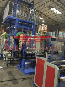 ABA 2 Layers PE Film Blowing Machine pictures & photos