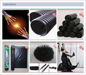 Black Masterbatch with High-Grade Carbon Black for Film, Injection and Extrusion pictures & photos