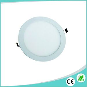12W AC85-265V Ultra Thin LED Round Panel pictures & photos