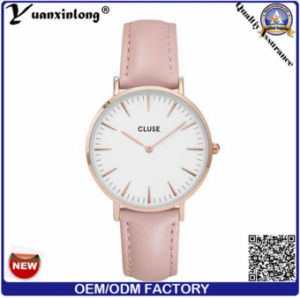 Yxl-239 Fashion Cluse Watch for European OEM Leather Business Men Women Diamond Quartz Watches pictures & photos