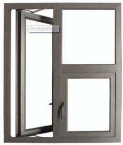 Security Aluminium Doors and Windows Designs Made in China pictures & photos