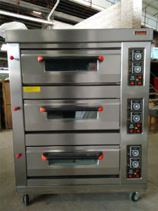 Gas 3 Deck 9 Tray Deck Oven Bakery Equipment Best Offer pictures & photos