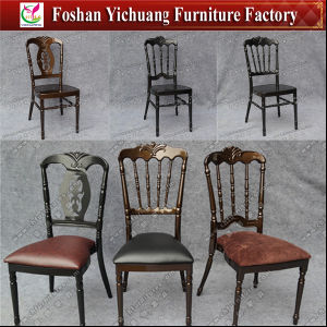 2017 New Design Metal Napoleon Chair for Wedding and Restaurant with Patent Protection (YC-A330) pictures & photos
