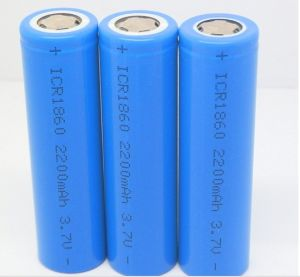 18560 2200 Li-ion Lithium Ion Rechargeable Battery pictures & photos