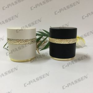 New Arrival 30g 50g Luxury Black Acrylic Cream Jar for Cosmetic Packaging (PPC-ACJ-122) pictures & photos
