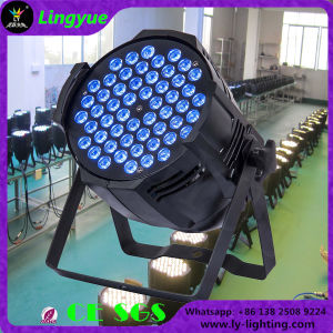 Stage Lighting Cheaper 54X3w RGB 3in1 LED PAR Can pictures & photos