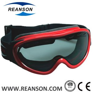 Reanson Professional OTG Anti-Fog Double Lenses Snow Mobile Goggles pictures & photos