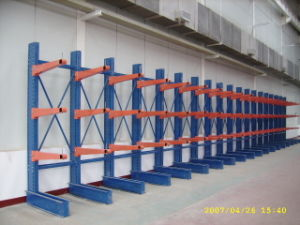 Vertical Warehouse Steel Cantilever Upright Storage Racks pictures & photos