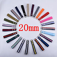 Custom Nota 18mm 20mm Replacement Canvas Nylon Watch Band