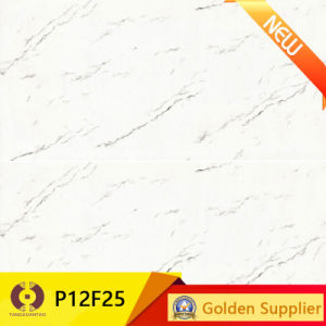 White Marble Stone Tiles Polished Porcelain Wall Floor Tile (P12F25) pictures & photos