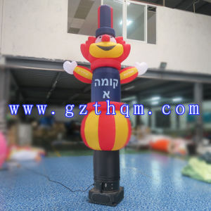Inflatable Sky Dancer Tube One Leg/Inflatable Clown Air Dancer pictures & photos